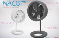 Naos, nouveau ventilateur de table Design